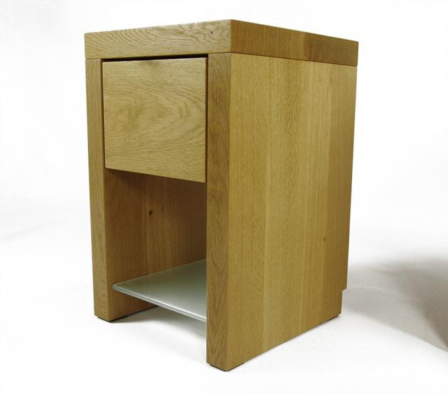 nachttisch schrank holz eiche massiv modern rustikal nach ma schlafzimmer onlineshop. Black Bedroom Furniture Sets. Home Design Ideas