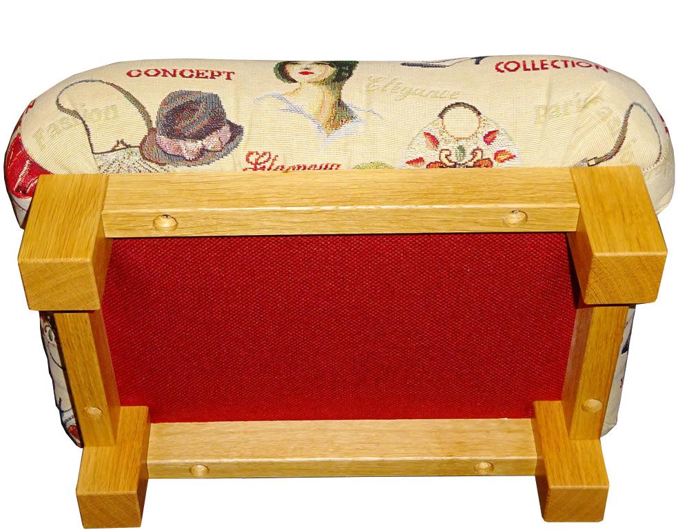 fu hocker julie 20cm h he fu bank fu schemel. Black Bedroom Furniture Sets. Home Design Ideas